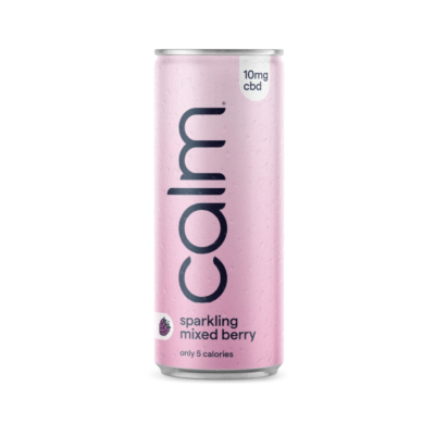 Calm Mixed Berry CBD Sparkling Water CBD Drink 10mg
