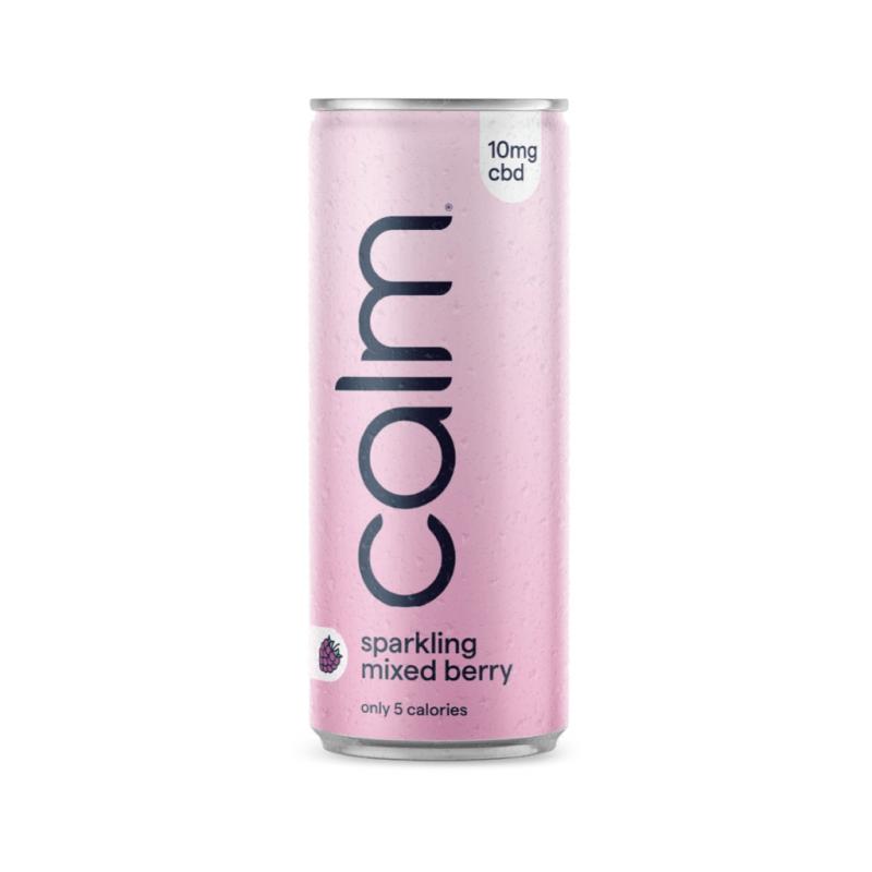 Calm Mixed Berry CBD Sparkling Water CBD Drink 10mg