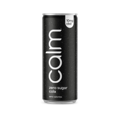 Calm Zero Sugar Cola CBD Drink 10mg