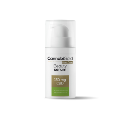 CannabiGold Beauty Serum for Oily, Combination & Acne-Prone Skin 150mg