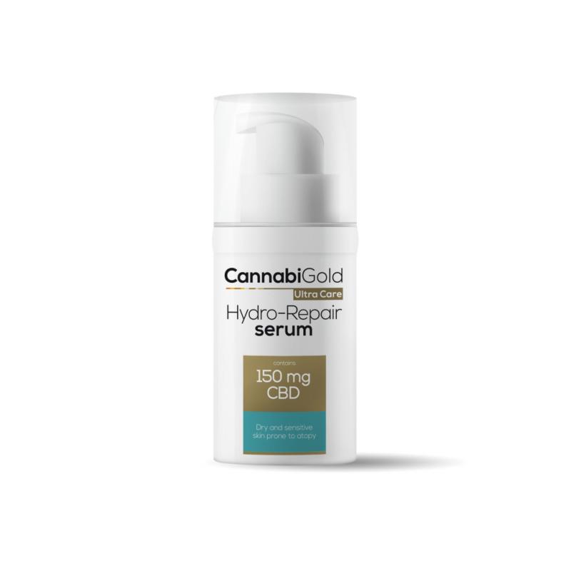 CannabiGold Hydro-Repair Serum for Dry, Sensitive & Atopy-Prone Skin 150mg