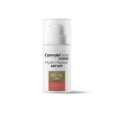 CannabiGold Hydro-Repair Serum for Very Sensitive & Allergy-Prone Skin 150mg