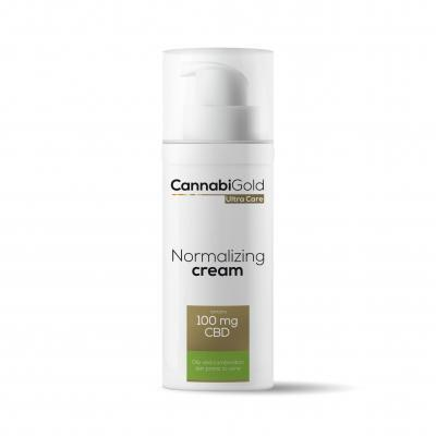 CannabiGold Normalizing Cream 100mg