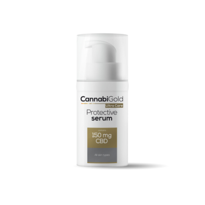 CannabiGold Protective Serum for All Skin types 150mg