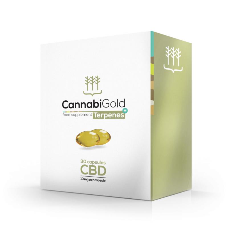 CannabiGold Terpenes+ Capsules