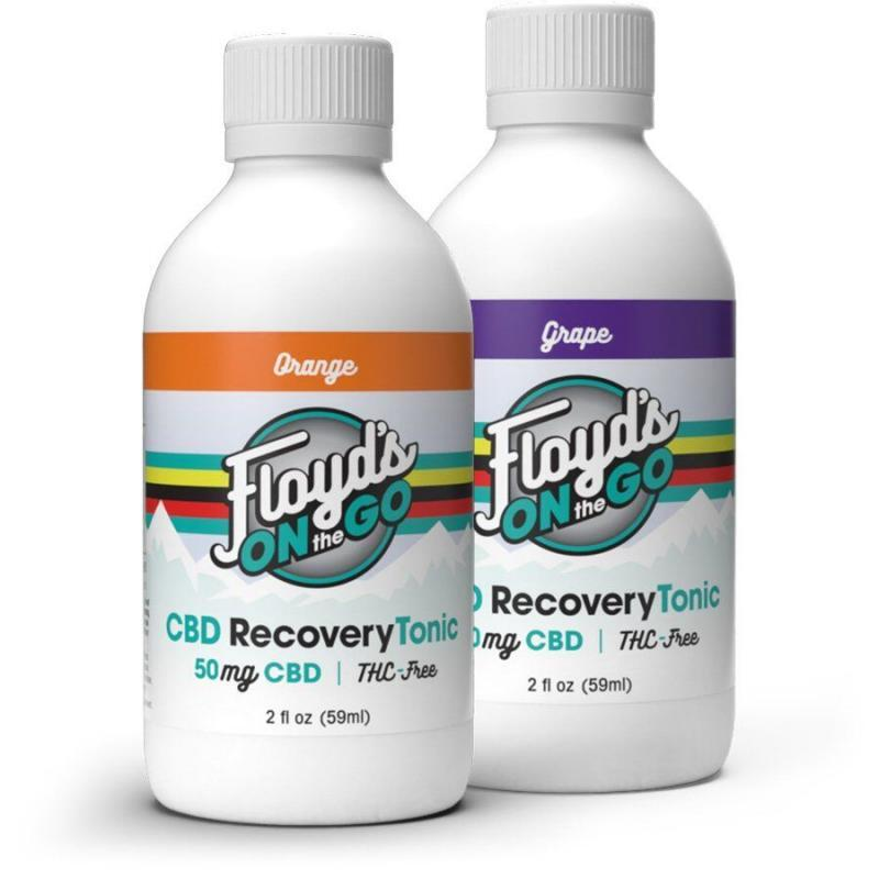 Floyd's of Leadville CBD Recovery Tonic 50mg
