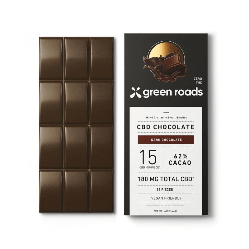 Green Roads CBD Chocolate Bar 180mg