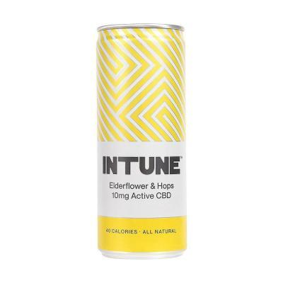 INTUNE Elderflower & Hops CBD Drink 250ml
