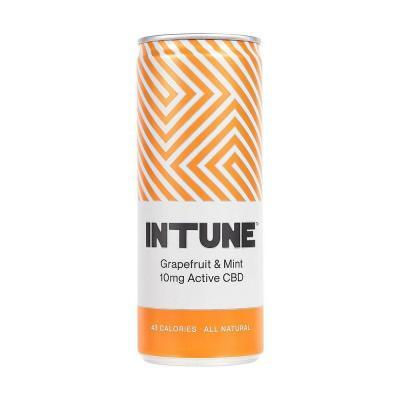INTUNE Grapefruit & Mint CBD Drink 250ml
