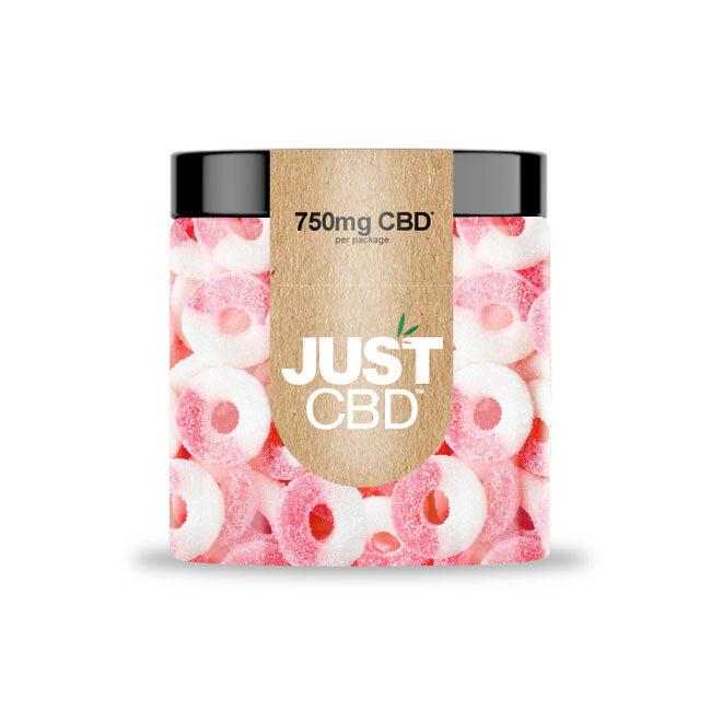 JustCBD Gummies 750mg Jar