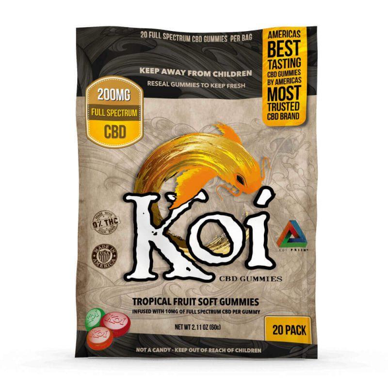 Koi Hemp Extract CBD Gummies - 20 piece