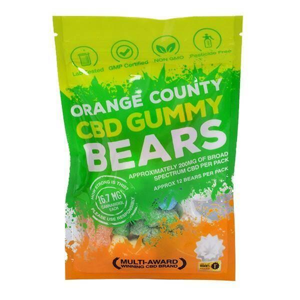 Orange County CBD Gummy Bears - Grab Bag