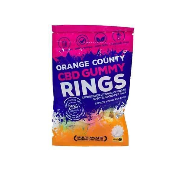 Orange County CBD Gummy Rings - Grab Bag