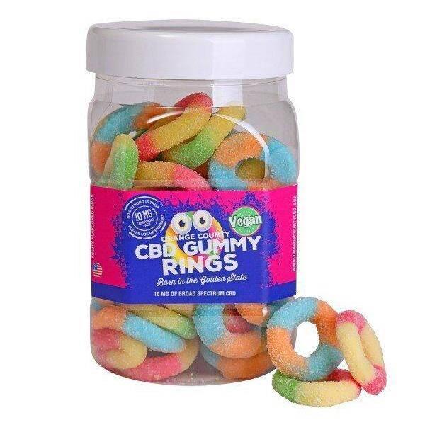 Orange County CBD Gummy Rings - Large Tub