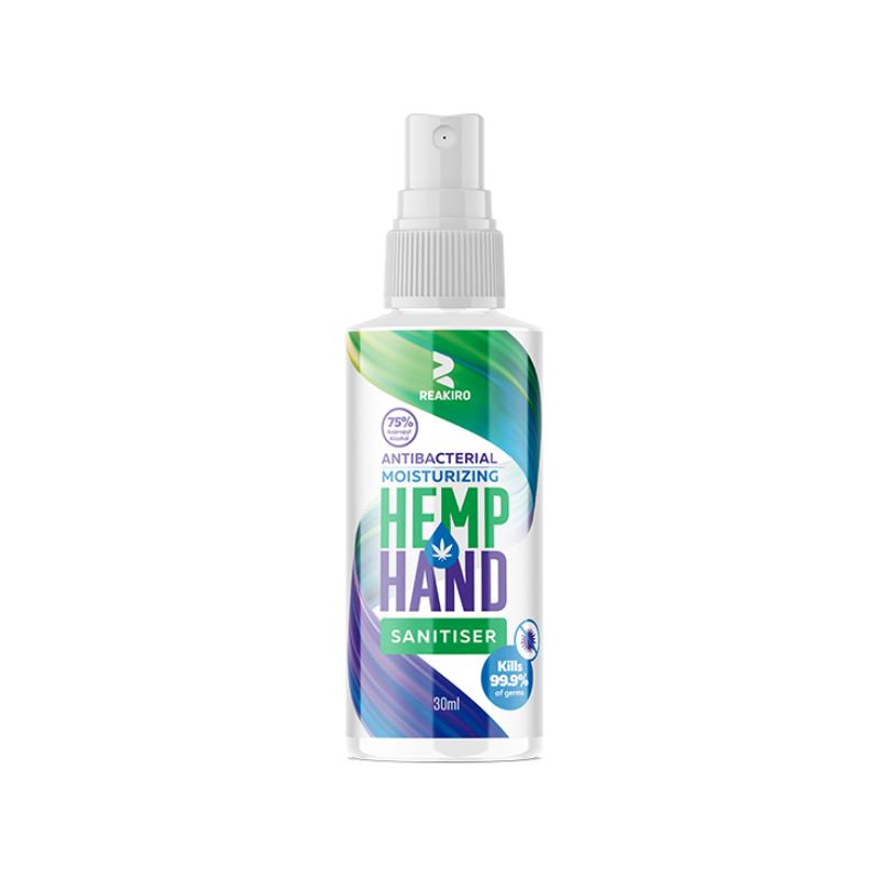 Reakiro Hemp Hand Sanitiser Spray