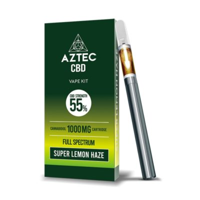 Aztec Super Lemon Haze 55% CBD Vaping Kit