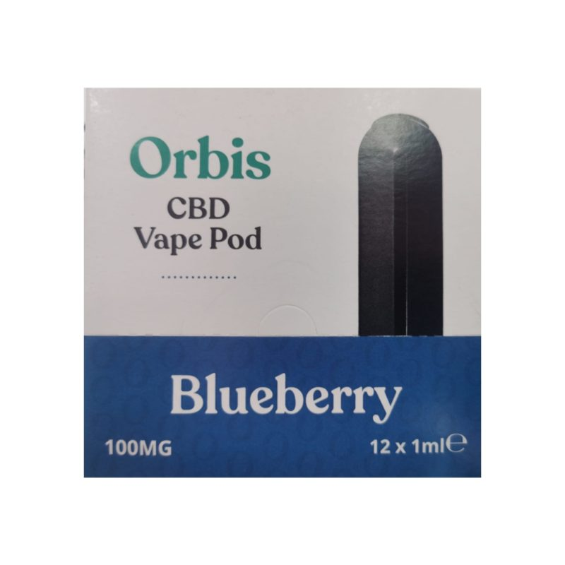 Orbis CBD Vape Pod Blueberry 100mg