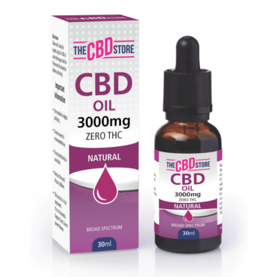 The CBD Store - CBD Oil Natural Flavour