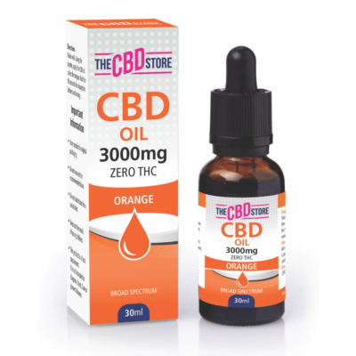 The CBD Store - CBD Oil Orange Flavour