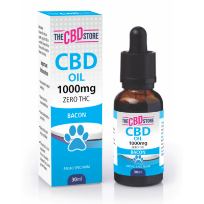 The CBD Store - CBD Pet Tincture Bacon