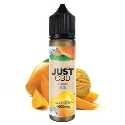 JustCBD Vape Mango Ice 60ml