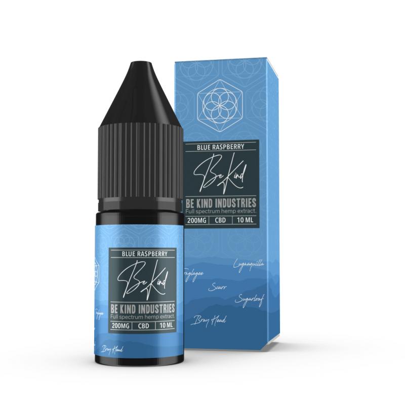 Be Kind Industry's Blue Raspberry CBD E-Liquid 10ml