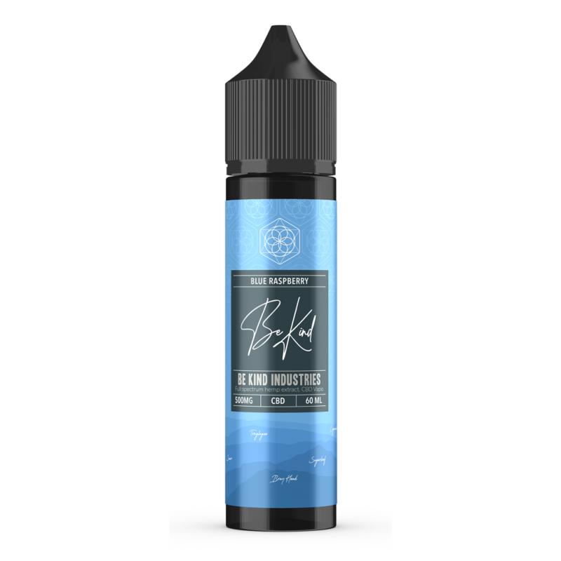 Be Kind Industry's Blue Raspberry CBD E-Liquid 60ml 500mg