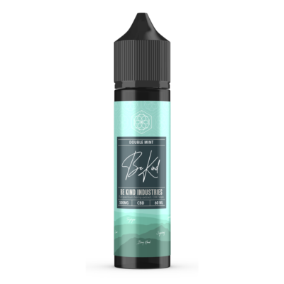 Be Kind Industry's Double Mint CBD E-Liquid 60ml 500mg