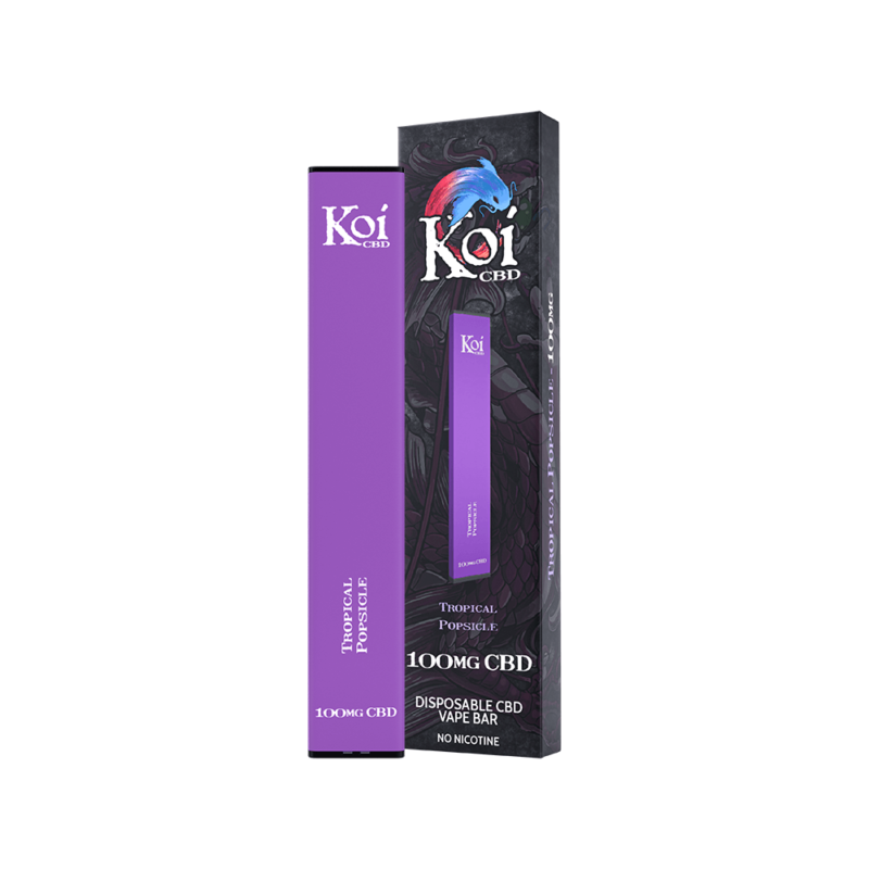 Koi CBD Disposable Vape Bar Tropical Popsicle