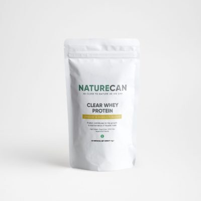 Naturecan Clear Whey Protein Isolate 1kg - Orange Mango