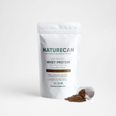 Naturecan CBD Whey Protein 1kg - Dark Chocolate
