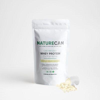 Naturecan CBD Whey Protein 1kg - Vanilla