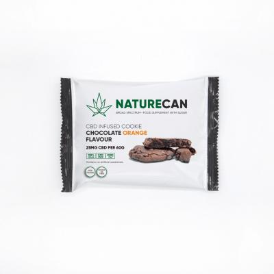 Naturecan CBD Cookie - Chocolate Orange