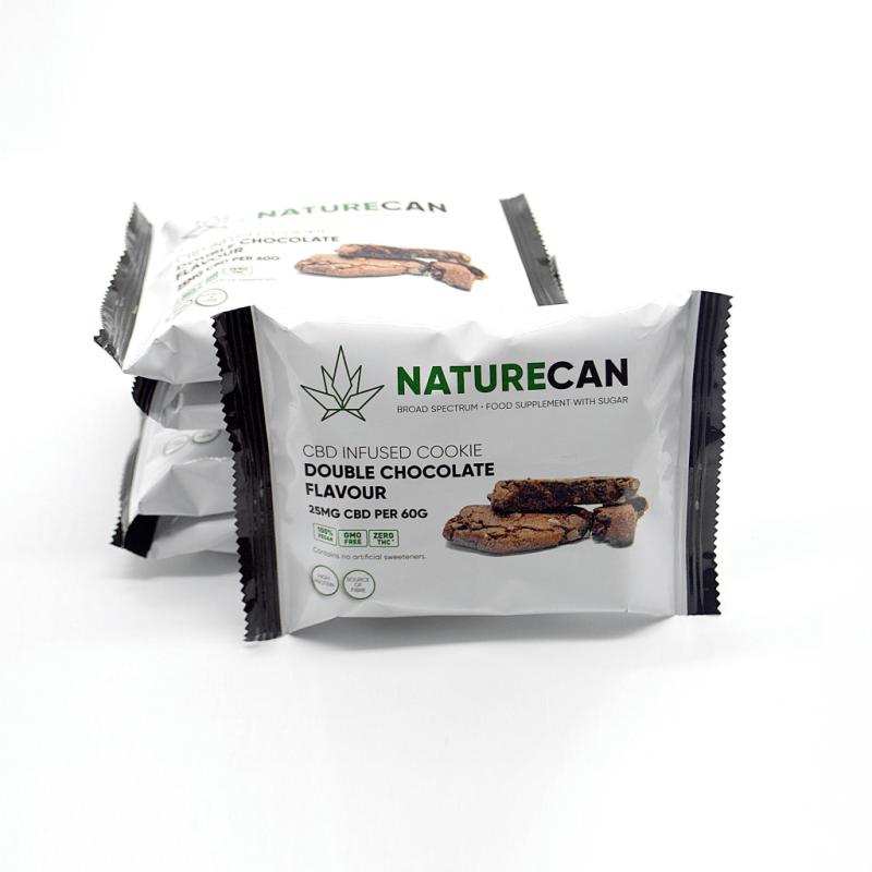 Naturecan CBD Cookie - Double Chocolate