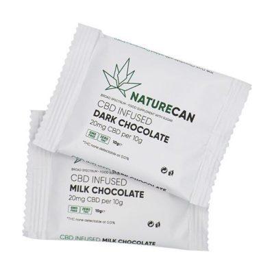 Naturecan CBD Infused Chocolate 20mg 10g 2