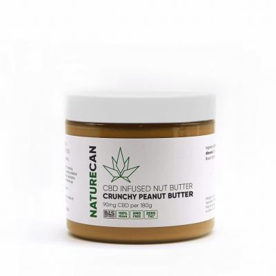 Naturecan CBD Nut Butter - Crunchy Peanut Butter