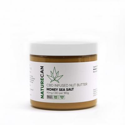 Naturecan CBD Nut Butter - Honey Sea Salt