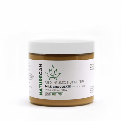 Naturecan CBD Nut Butter - Milk Chocolate with Cacao Nibs
