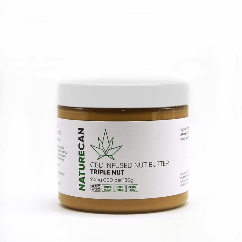 Naturecan CBD Nut Butter - Triple Nut