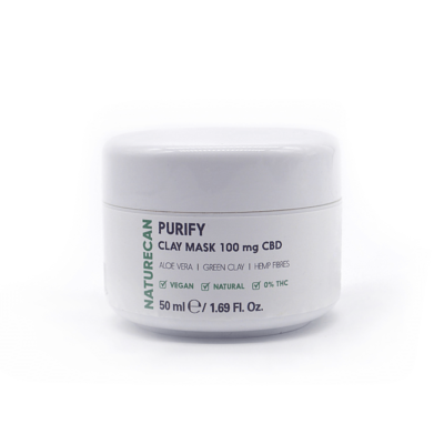 Naturecan Purify CBD Clay Mask 100mg