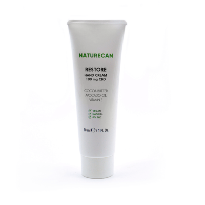 Naturecan Restore Hand Cream CBD 100mg