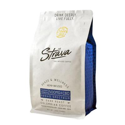Strava CBD Infused Dark Roast Colombian Coffee 340g - 500mg