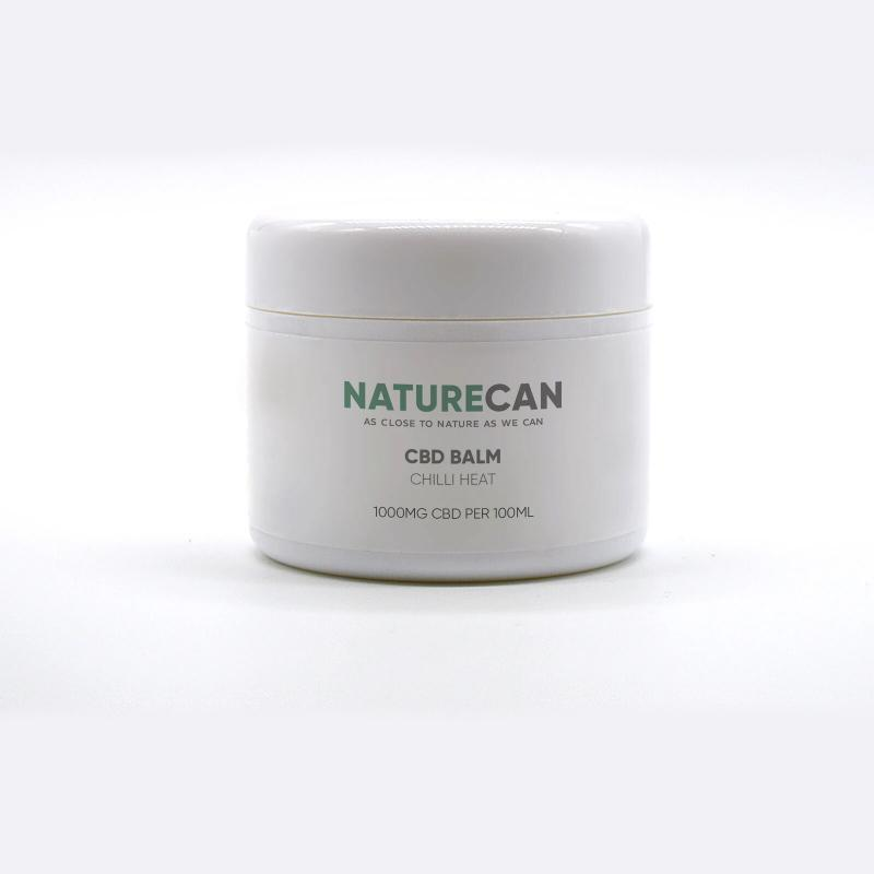 CBD MUSCLE BALM with Chilli